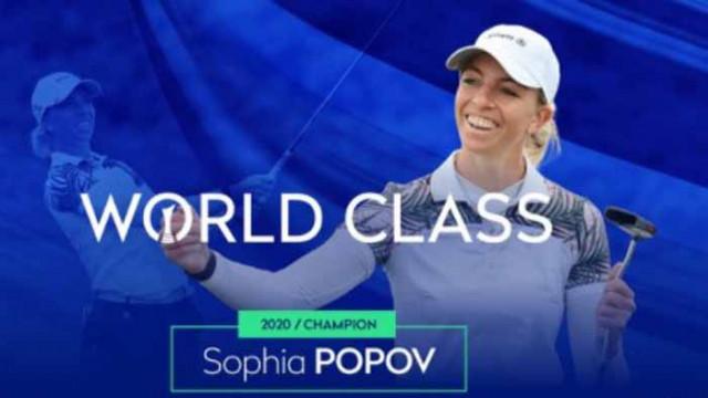 Голфърка с българска кръв спечели един от най-големите турнири в света