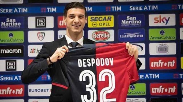 Новак в Серия А проявява интерес към Десподов