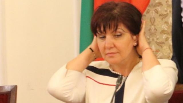 Цвета Караянчева се връща в парламента