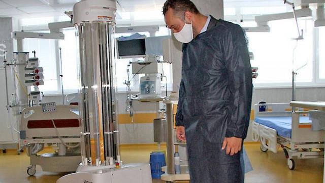 Първият робот за дезинфекция срещу COVID-19 е в Пловдив