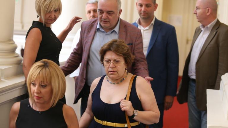 Манолова чу имената на министрите и млъкна