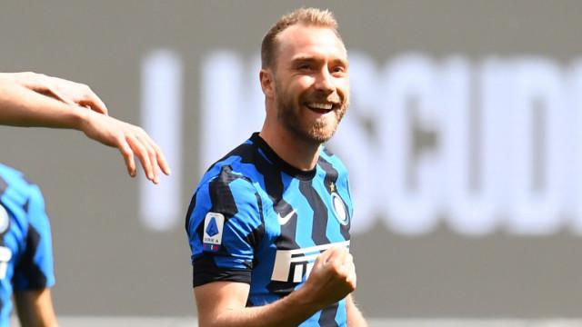 Кристиан Ериксен се присъедини към Интер