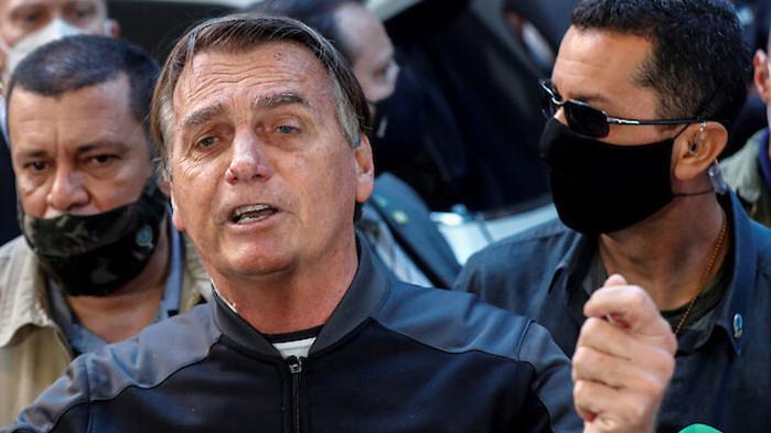 Върховният съд на Бразилия разпореди президентът на страната Жаир Болсонаро