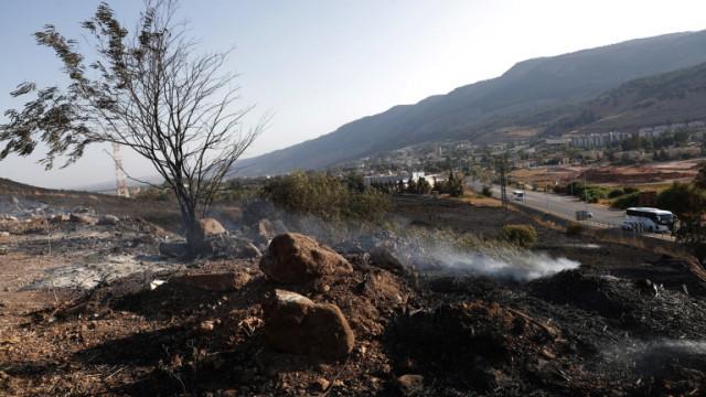 Израел нанесе първи въздушни удари в Ливан от седем години