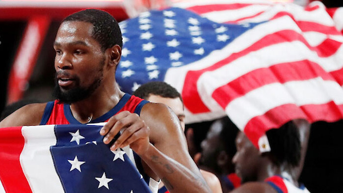 Дюрант изведе САЩ до четвърто поредно олимпийско злато в Токио