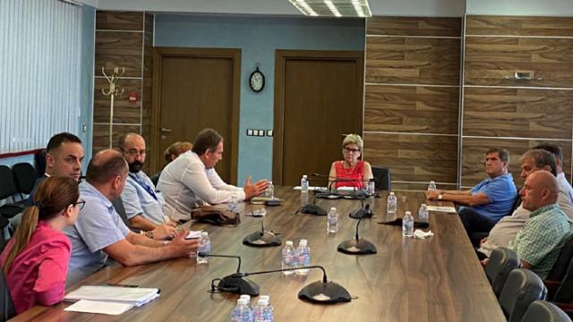 Ясна визия за ВиК отрасъла поиска министър Комитова на среща с ръководството на дружеството