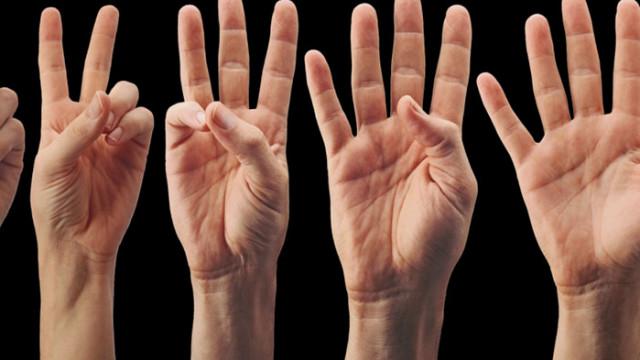 Какво означават буквите на дланта