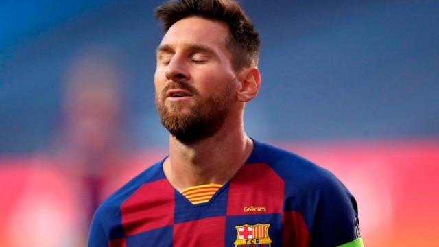 Меси се разделя с Барселона