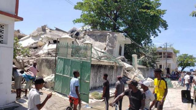 Най-малко 227 са жертвите на мощното земетресение в Хаити