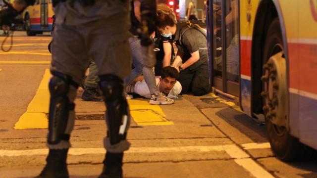 Хонконг арестува четирима студенти за тероризъм