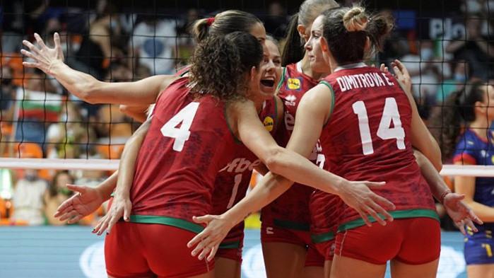 Втора поредна победа за женския ни национален отбор по волейбол