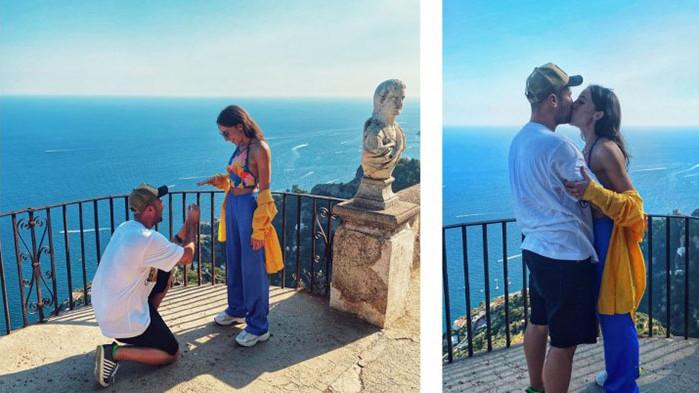 Златната гимнастичка Симона Дянкова получи годежен пръстен в Италия