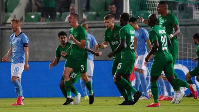 Победа в Разград не стигна на Лудогорец за групите на Шампионска лига