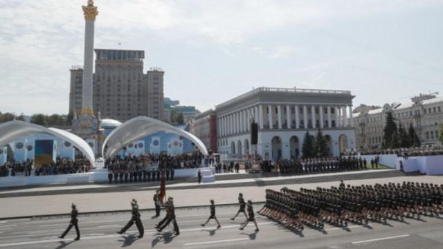 Украйна отбеляза 30 години независимост