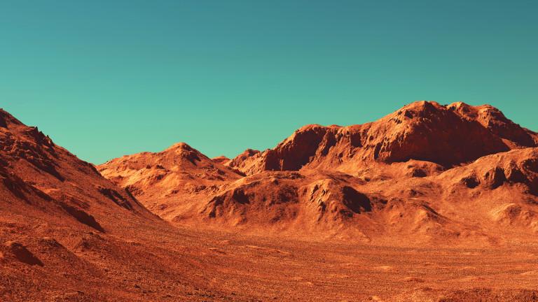 Какво представлява снегът на Марс?