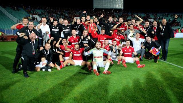 ЦСКА разби Виктория и влезе в групите на Лигата на конференциите