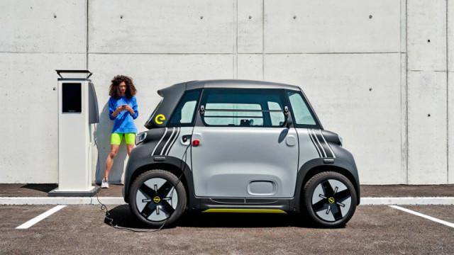 Opel пуска електромобил за 15-годишни шофьори