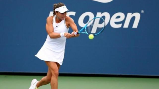 Виктория Томова отпадна на крачка от основната схема на US Open