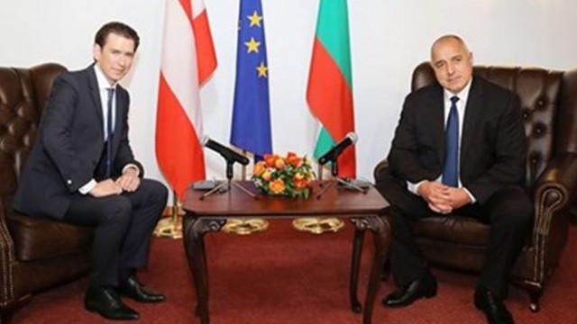 Бойко Борисов поздрави Себастиан Курц за преизбирането му