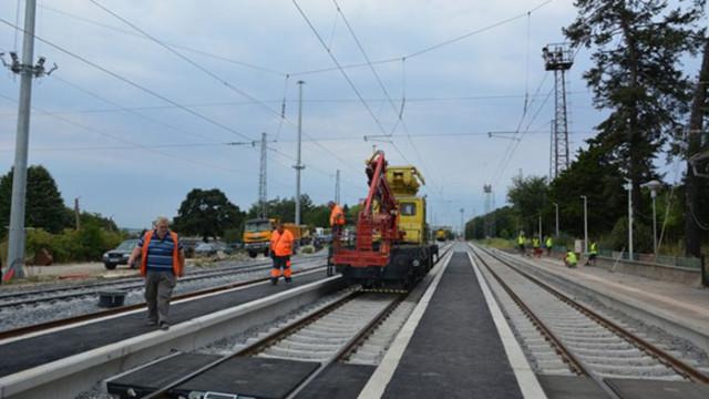Подновяват железопътната инфраструктура между Русе и Каспичан