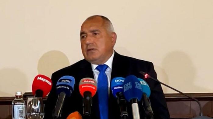 Председателят на ГЕРБ Бойко Борисов е в Пловдив, където поднесе