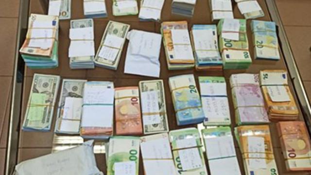 """На """"Дунав мост - Видин"""" откриха недекларирана валута на стойност 870 000 лева"""