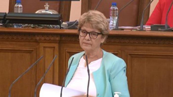 Комитова за парламента: Два и половина дни работа срещу сериозни заплати. Такова нещо не съм виждала