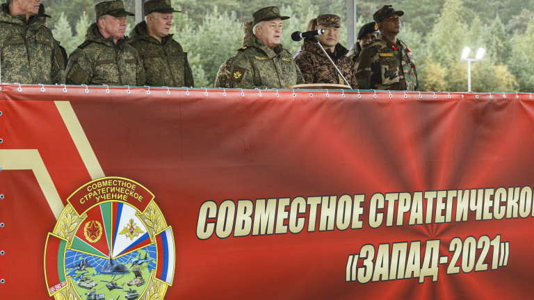 """Беларус: Ученията """"Запад-2021"""" не са заплаха за Запада"""