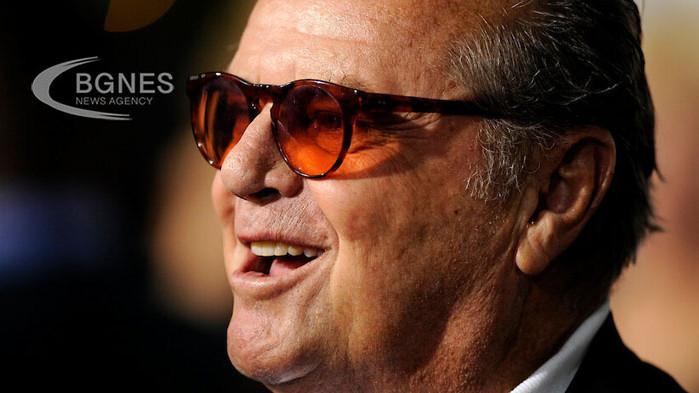 Джак Никълсън страда от тежка деменция