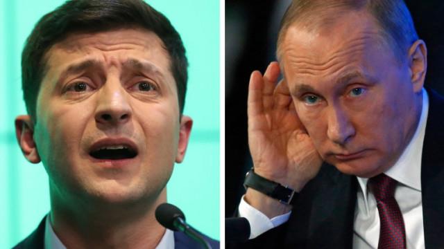 Путин отказа да обсъжда Донбас със Зеленски