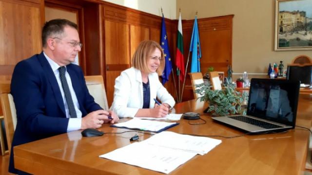 ЕИБ и Столична община подписаха договор за заем на стойност 60 млн. евро за устойчиви проекти
