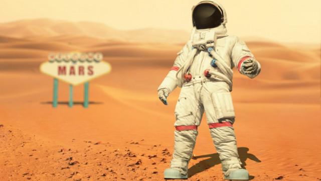 Марс, NASA и строежът от биокомпозит