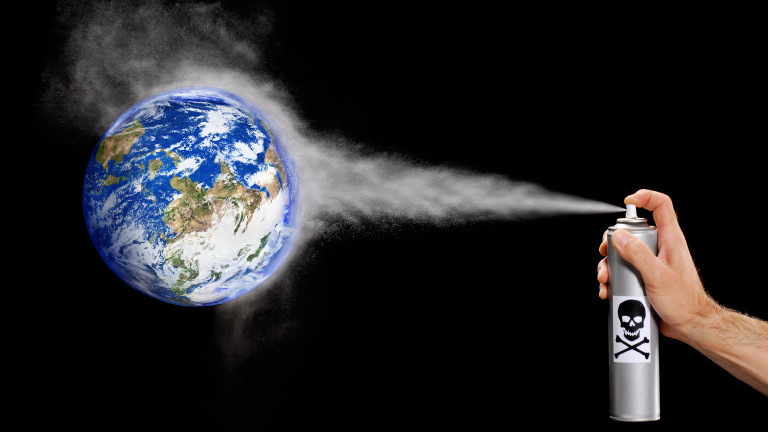 Колко голям е проблемът с озоновата дупка?