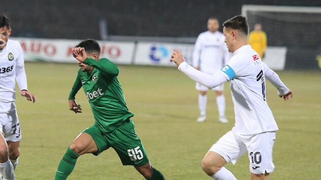 Десет от Славия спряха победния път на Лудогорец в Първа лига