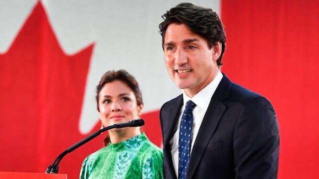 Трюдо печели трети мандат на предсрочните избори в Канада