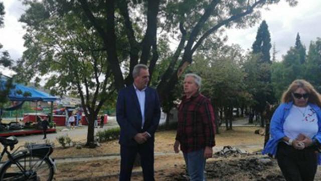 Зам.министър Граматиков от пътя-убиец в Айтос: Ако няма проект за обход, ще го стартираме