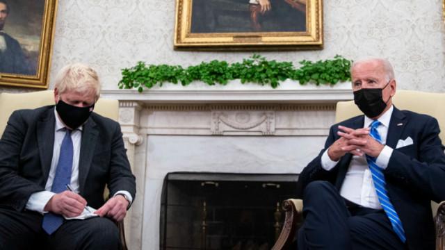 Байдън и Джонсън с подход срещу Русия и Китай на база ценностите на САЩ и Британия