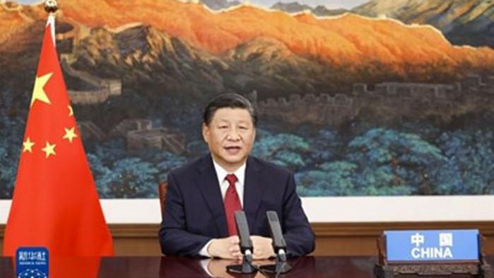 На 21 септември в Пекин китайският председател Си Дзинпин участва