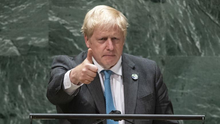 Британският премиер Борис Джонсън призова световните лидери да поемат отговорност