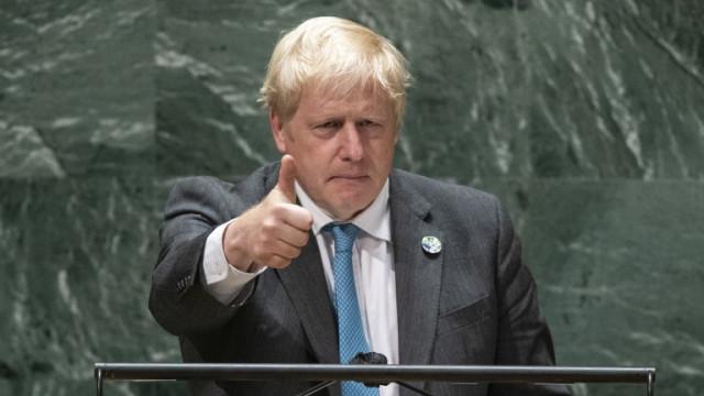 Борис Джонсън цитира жабока Кърмит пред ООН, но и е сериозен за климатичните промени