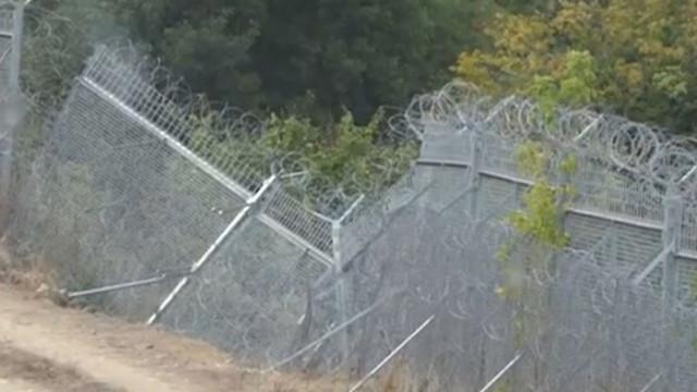 МВР вече стопанисва оградата по границата с Турция