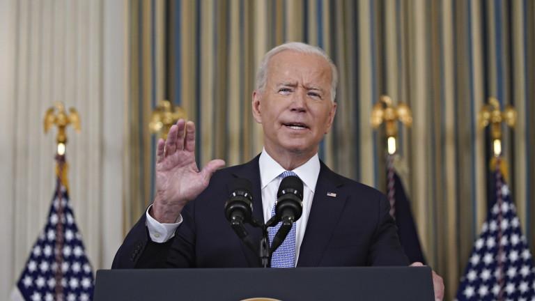 Президентът на САЩ ДжоБайдън заявив изказването си в петък, ченеваксинираните