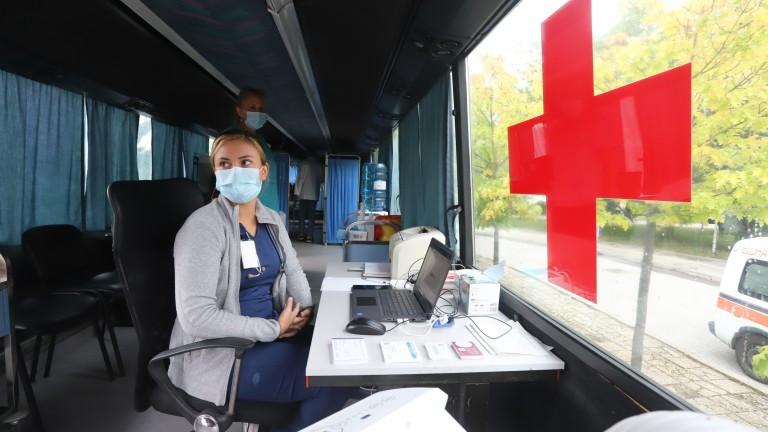 Министерството на здравеопазването публикува информация заизнесените ваксинационни пунктове, където ще
