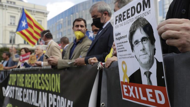 Италиански съдия е разпоредил освобождаването на бившиялидер на каталунските сепаратисти