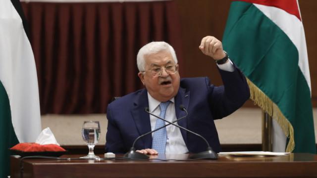 Абас: Израел продължава геноцида срещу палестинците