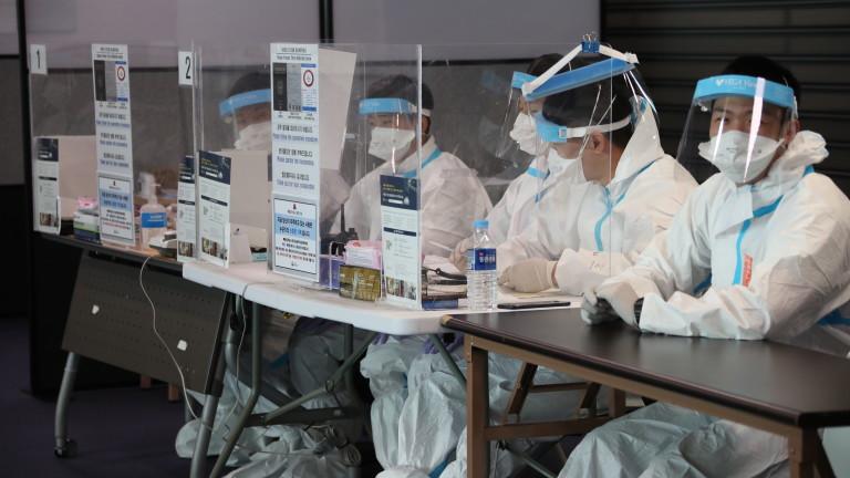 Южна Корея с 3 000 заразени за първи път от началото на пандемията