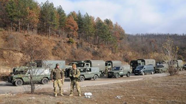 НАТО увеличава патрулите близо до границата на Косово със Сърбия