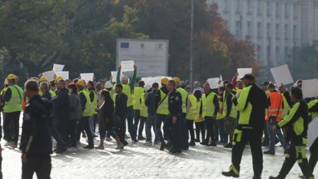 Пътно-строителният бранш излиза на национален протест утре