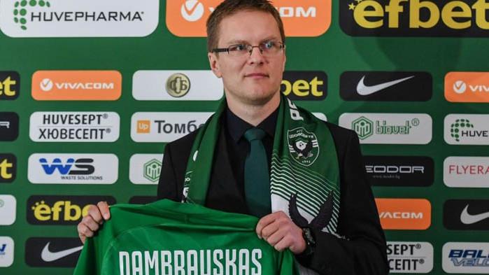 Валдас Дамбраускас заяви, че иска да види различен Лудогорец срещу