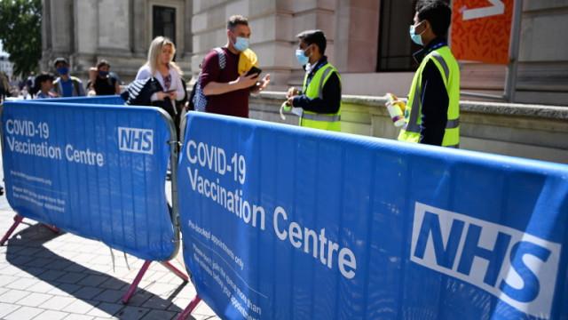 Великобритания със скок в заболеваемостта от септември